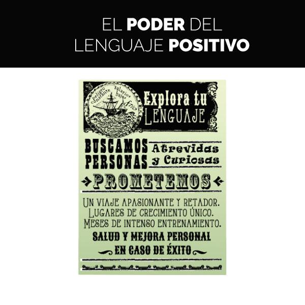 El poder del lenguaje positivo – Inmersión